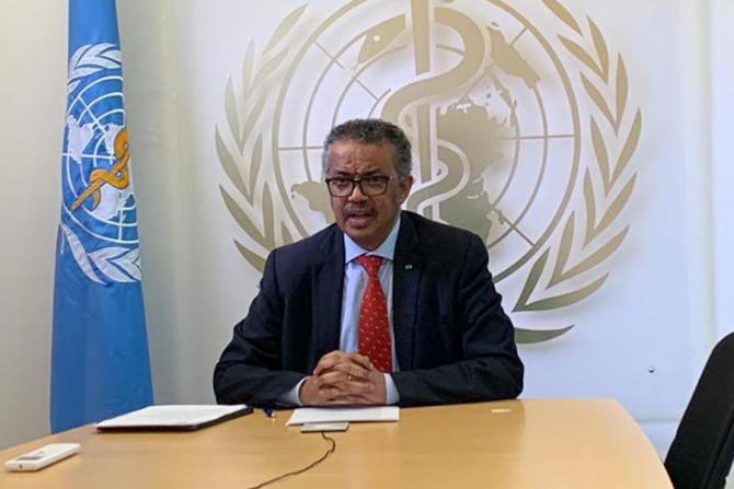 Tedros Adhanom Ghebreyesus, șeful OMS