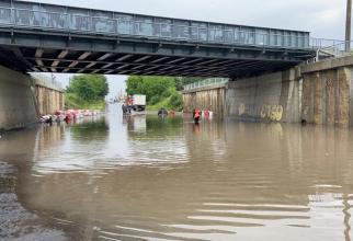 Inundații în județul Botoșani