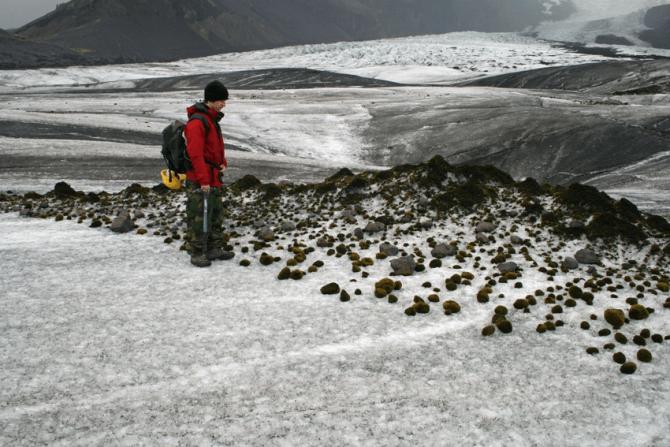 Ghețarul Falljoekull din Islanda