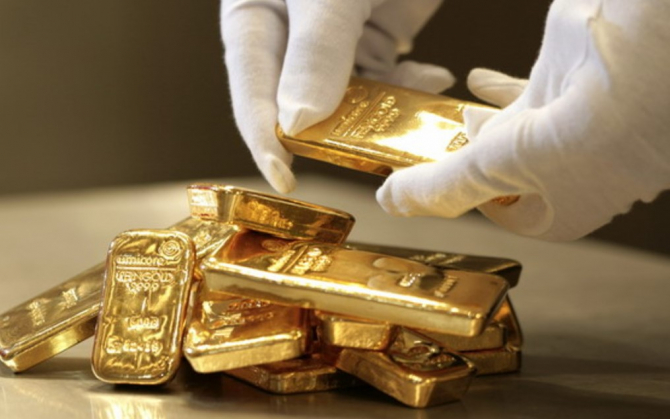 Peste 80 de tone de aur, care nu erau aur