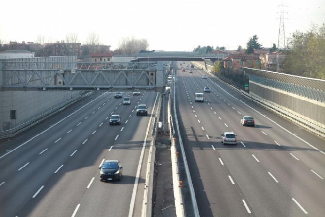 Circulația este restricționată pe A1