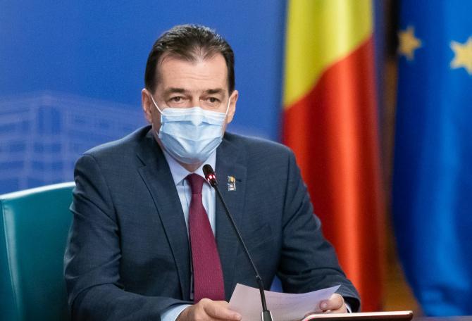 Premierul a comentat situația epidemiologică