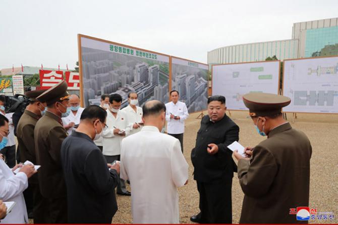 Kim Jong-Un nemulțumit profund de cum merg lucrurile pe șantier