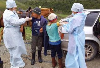 Autoritățile ruse au început vaccinarea în regiunea Tuva