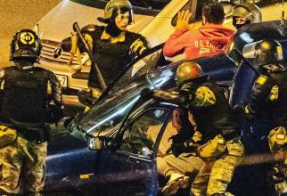 Proteste violente în Minsk