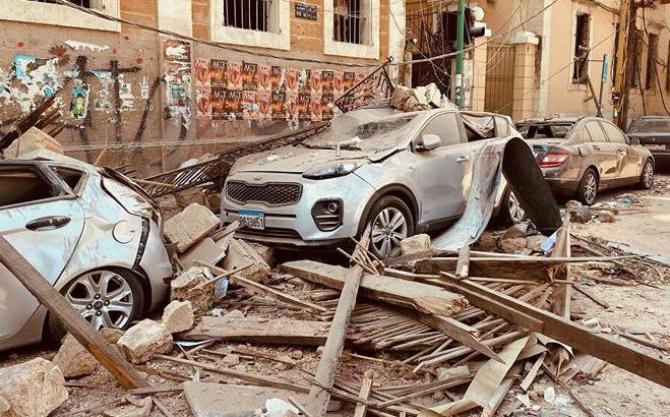 Imaginile dezastrului