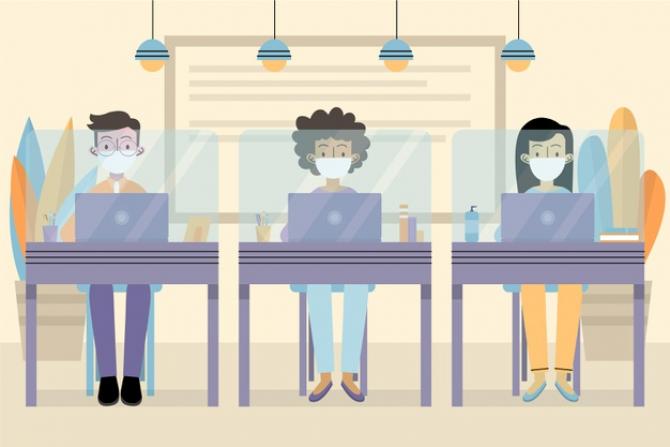 Noua normalitate impine schimbări majore la locul de muncă