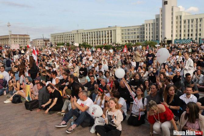 Protestele de amploare de la Minsk continuă