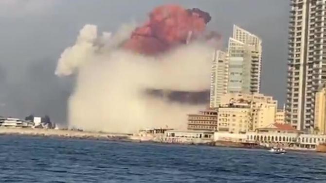 O explozie care a zguduit întreg orașul