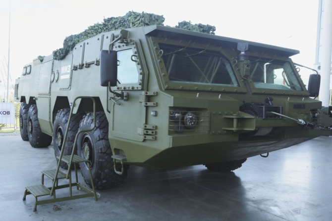 Noul sistem de transport al rachetelor aer-sol