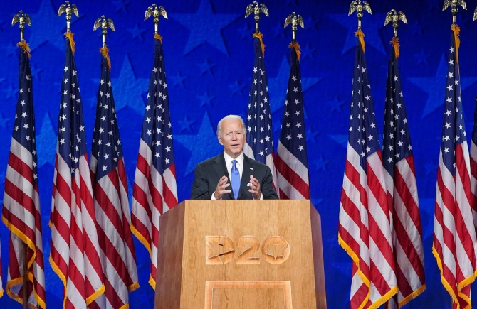 Voi fi un aliat al luminii şi nu al întunericului, a spus Biden
