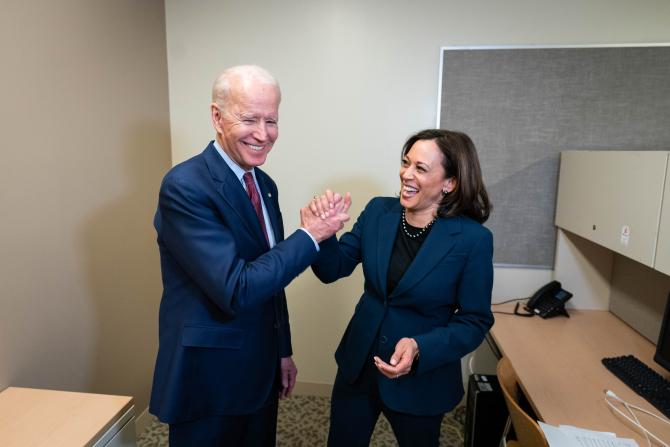 Joe Biden și Kamala Harris