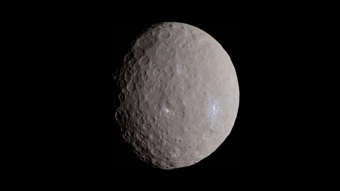 "Planeta Ceres ar putea fi ""o lume OCEANICĂ"""