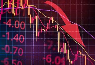 Bursa de Valori Bucureşti a deschis ședința de astăzi în SCĂDERE