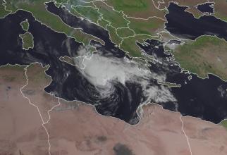 Uraganul a fost numit Ianos