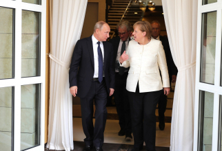 Vladimir Putin și Angela Merkel / Foto: kremlin.ru