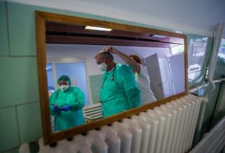 A crescut numărul pacienților din ATI