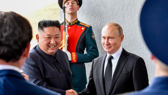 Kim Jong-Un și Vladimir Putin / Foto: kremlin.ru