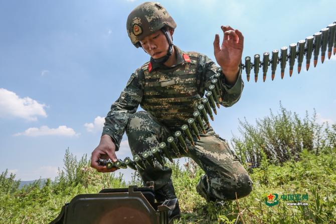 Armata chineză nu are experiență de luptă / Foto: chinamil.com.cn