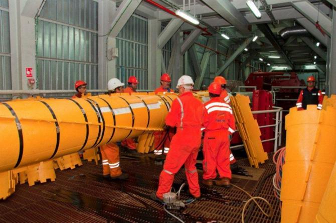 Grup Servicii Petroliere începe montarea conductei