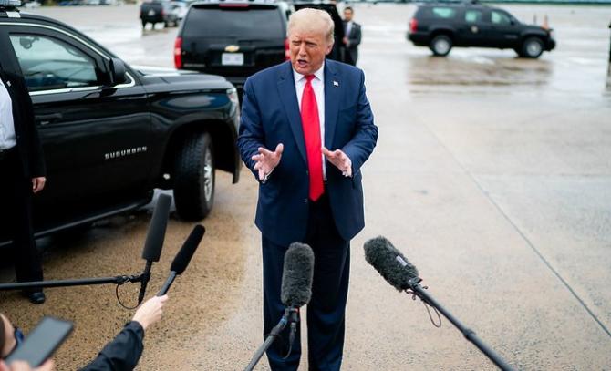 Președintele SUA nu crede în încălzirea globală