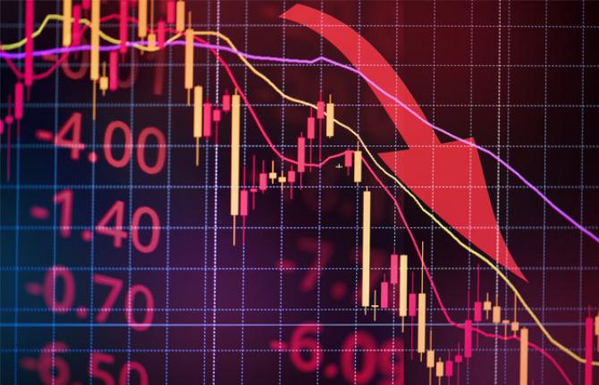 Bursa de la Bucureşti a închis în SCĂDERE