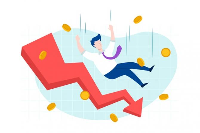 Economia României scade în ritm alert