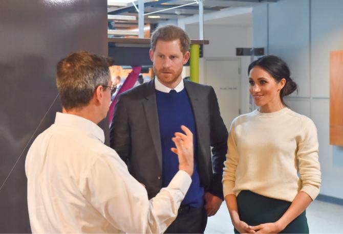 Harry și Meghan au făcut un nou pas spre independență față de Casa Regală a Marii Brtianii