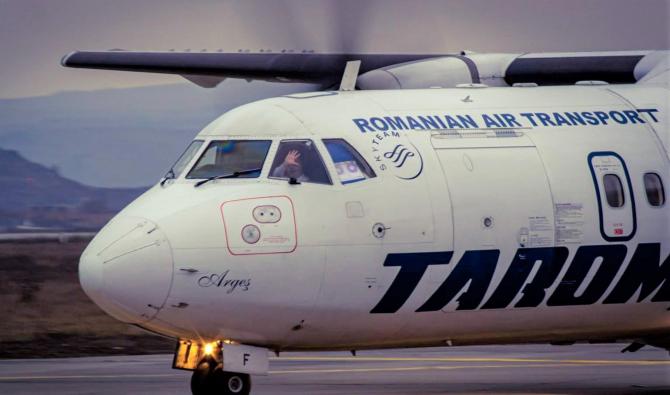 TAROM scoate la vânzare 14 aeronave vechi