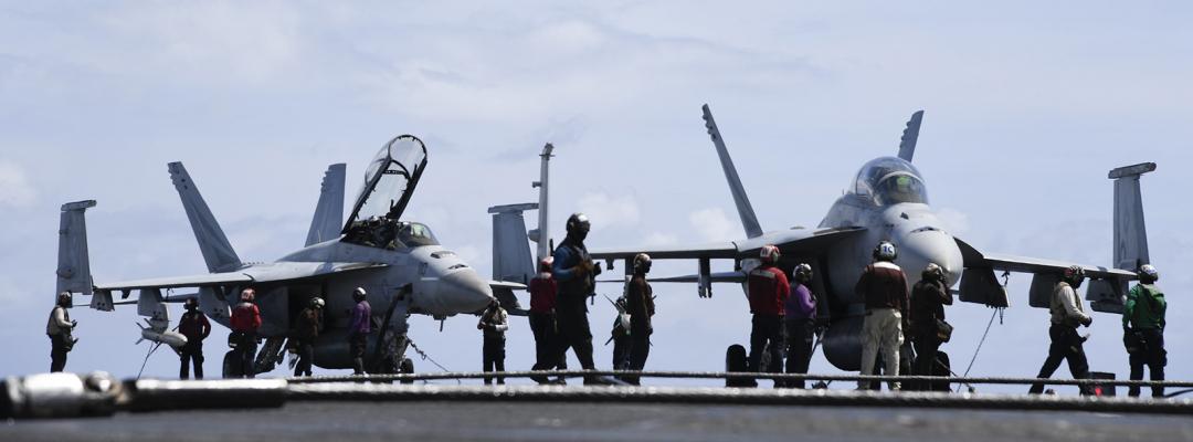 Viața la bordul unui portavion al US Navy