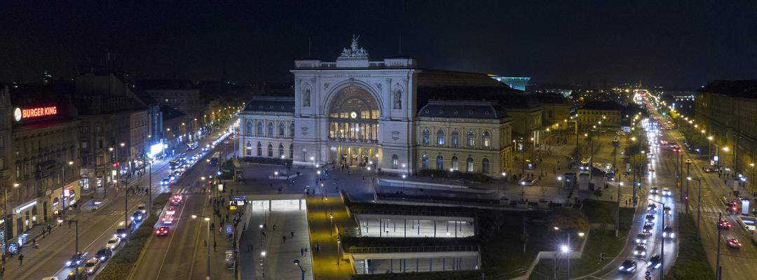 Gara Keleti din Budapesta