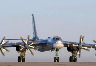 ALERTĂ în aer! Bombardiere rusesti, escortate de avioane americane