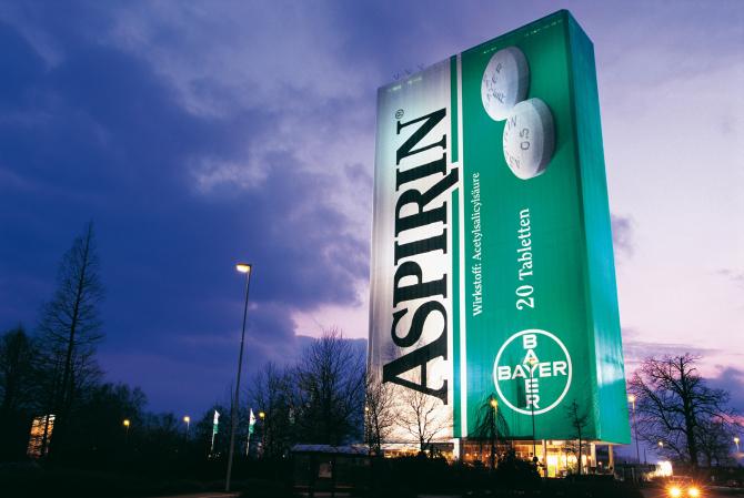 Bătrâna aspirină pare să fie un panaceu universal / Foto: bayer.com.de