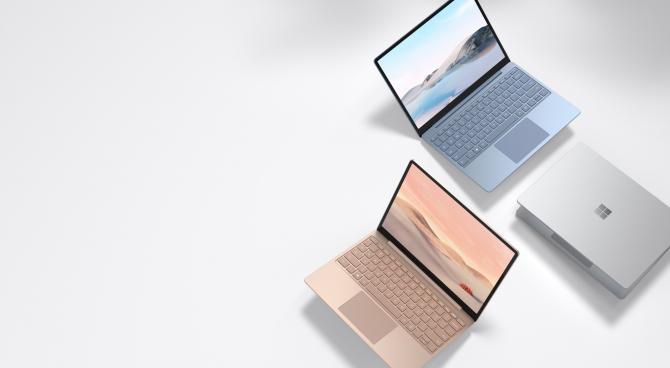 Laptopurile Surface Go de la Microsoft