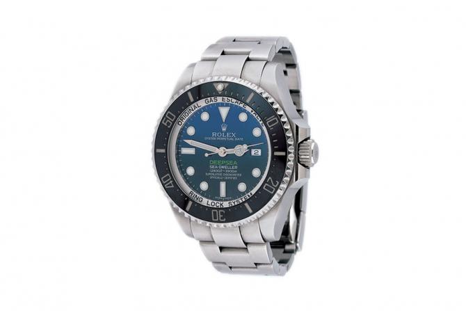 """Ceas Rolex Deepsea Sea-Dweller """"James Cameron"""", de mână, bărbătesc, vine însoțit de actele de proveniență și de cutia originală"""