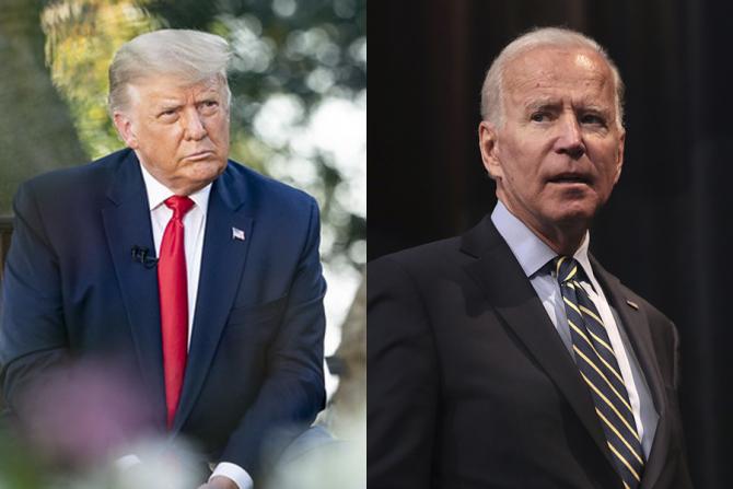 Donald Trump și Joe Biden