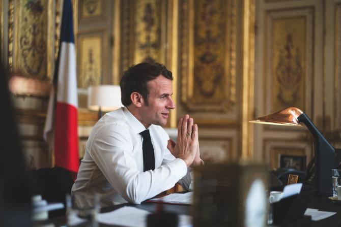 Președintele Franței dorește să aloce până la 5% din dozele primite de Franța pentru țările sărace, ca măsură de a contracara influența Chinei și Rusiei.