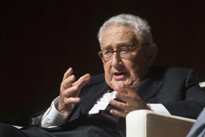 Henry Kissinger, fost secretar de stat, laureat al Premiului Nobel pentru Pace