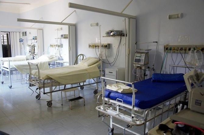 Centrul expozițional din Vilnius a fost transformat în spital