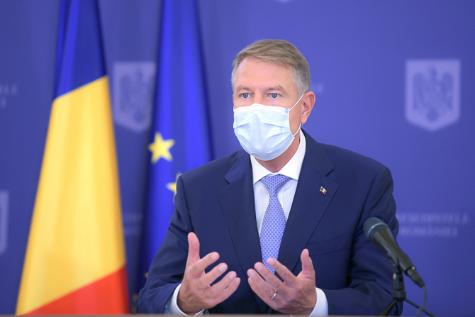 Klaus Iohannis, despre strategia de vaccinare anti-COVID