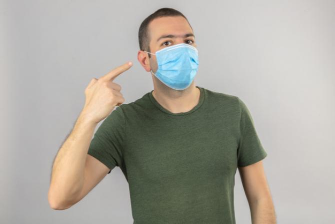 OMS recomandă PURTAREA măştilor sanitare în LOCUINȚE