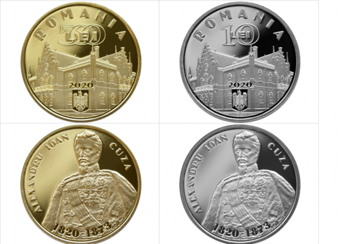 BNR a lansat o NOUĂ monedă din aur şi o NOUĂ monedă din argint