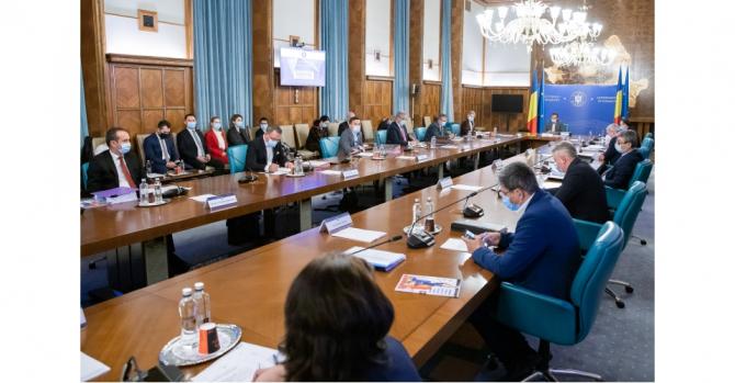 Discuția s-a purtat la începutul ședinței de guvern