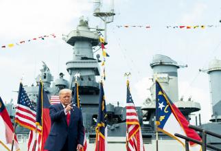 Înalți oficiali militari sunt îngrijorați de deciziile lui Trump