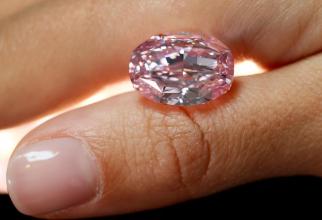 Diamantul a fost vândut la licitație