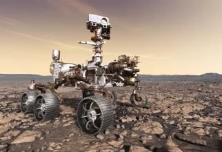 Roverul Perseverență este trimis să experimenteze fabricarea oxigenului