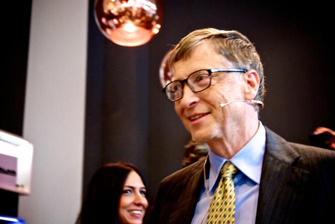 Bill Gates /  Foto: Maik Meid/Flickr