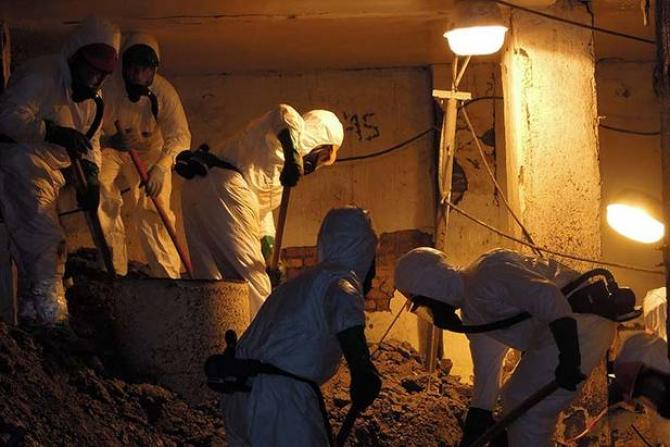 Se lucrează intens la fosta centrală nucleară de la Cernobîl / Foto: BERD