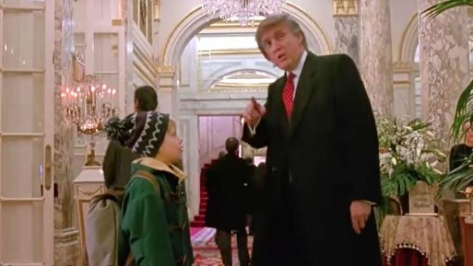 Donald Trump în Home Alone 2