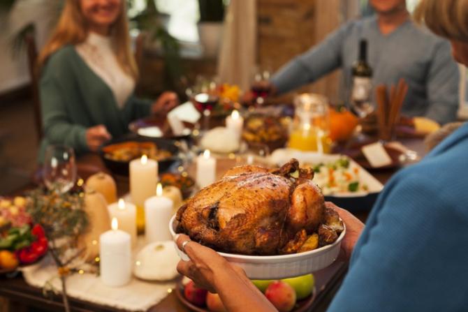 Costul mesei de Ziua Recunoştinţei va fi în SCĂDERE